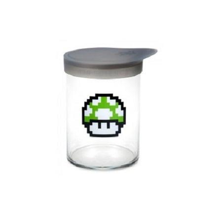 420 Soft Top Jar 1 up Mushroom