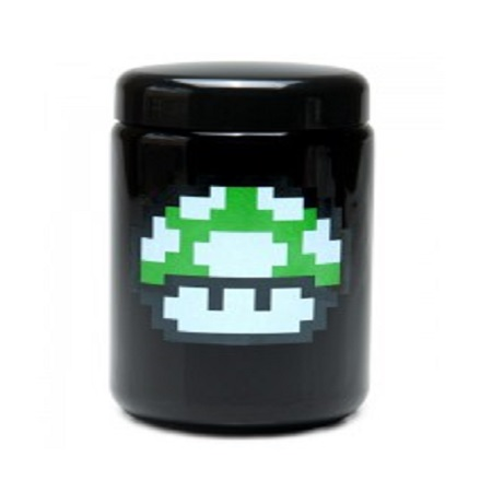 420 UV Stash Jar 1 up Mushroom