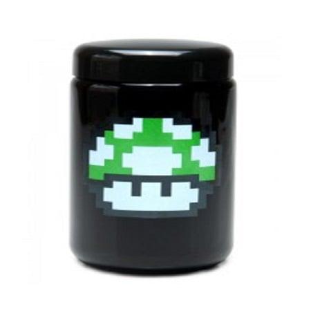 420 UV Stash Jar 1 up Mushroom