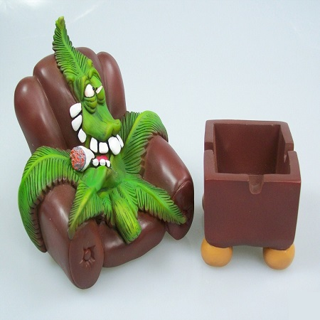 Cannabuds Armchair Ashtray/Stash Box
