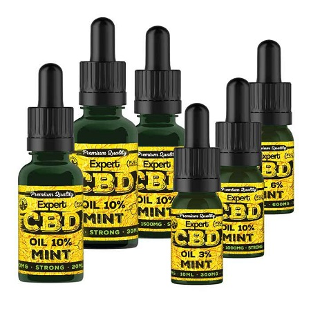 Expert Seeds Mint Expert CBD Oil