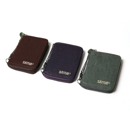 Sativa Hemp Wallet with Chain (PS-23)