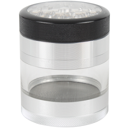 Kannastor Clear Bodied and Top Aluminium Grinder