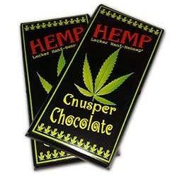 Cnusper Hemp Chocolate Bar Coffee
