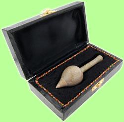 Mushroom Pipe - Soapstone