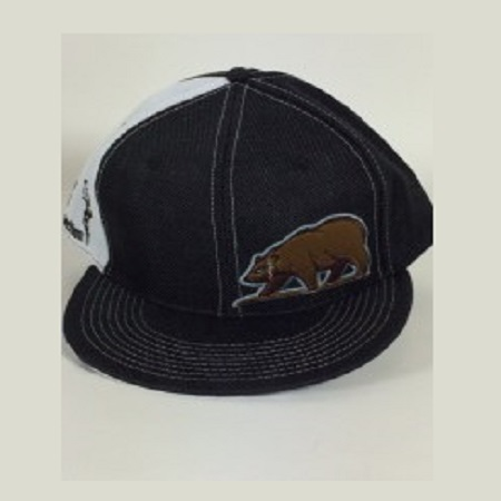 Cali Connection Snapback Cap Grizzly Bear Logo