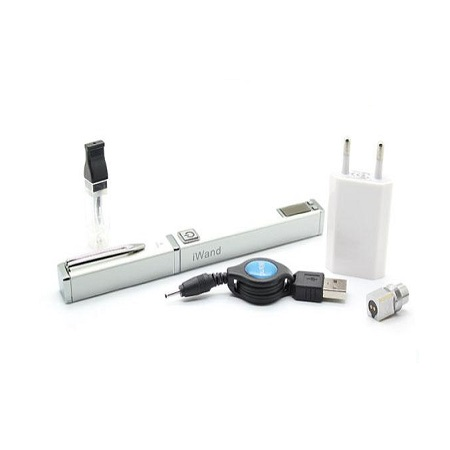 iWand White Pen Clip Style USB Rechargeable 650mah Electronic Cigarette