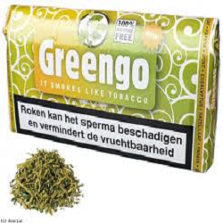Greengo Pouch 30g 100% Nicotine Free Smoking Blend