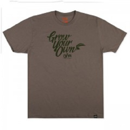 DNA Genetics Grow Your Own Stone Grey T-Shirt
