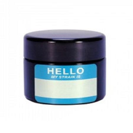 420 UV Stash Jar Hello My Strain is