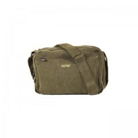 Hemp Multi-Pocket Shoulder Bag