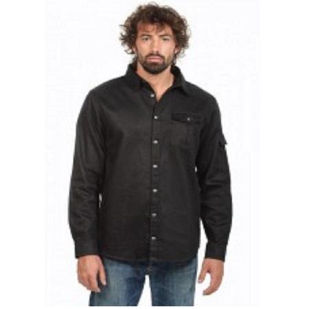Hemp Hoodlamb Clothing Men's Hemp Long Sleeved Shirt