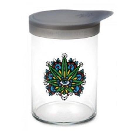 420 Soft Top Jar Leaf Eye