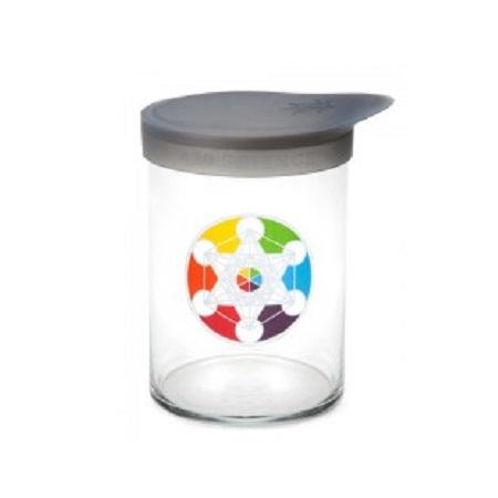 420 Soft Top Jar Metatron's Cube