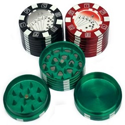 Poker Chip Metal Grinder
