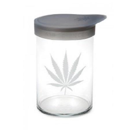 420 Soft Top Jar Silver Leaf