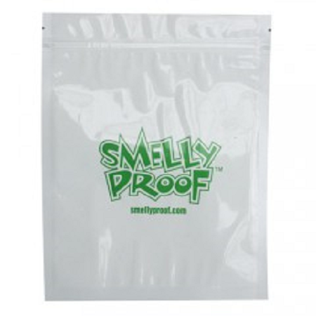 White Smelly Proof Bags
