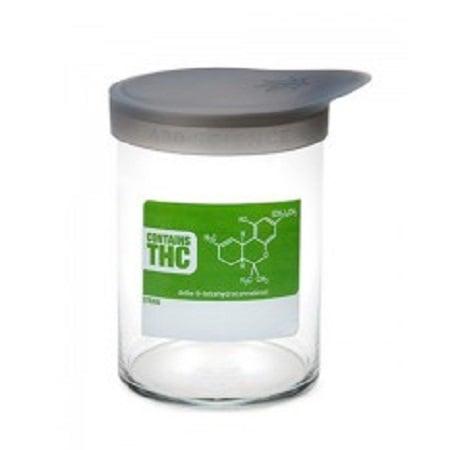 420 Soft Top Jar THC Molecule