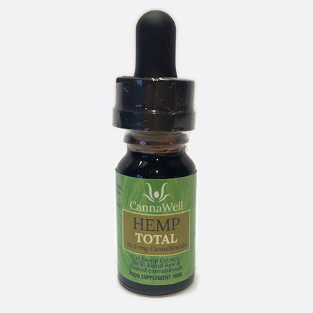Cannawell Hemp TOTAL, CO2 Hemp Extracts - 50:50 Blend of Raw and Heated Cannabinoids