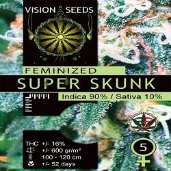 Vision Seeds Super Skunk Feminized