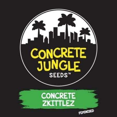 Concrete Jungle Seeds Concrete Zkittlez Feminized
