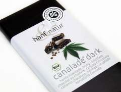 Hemp Dark Chocolate Canalade 100g - Certified Organic