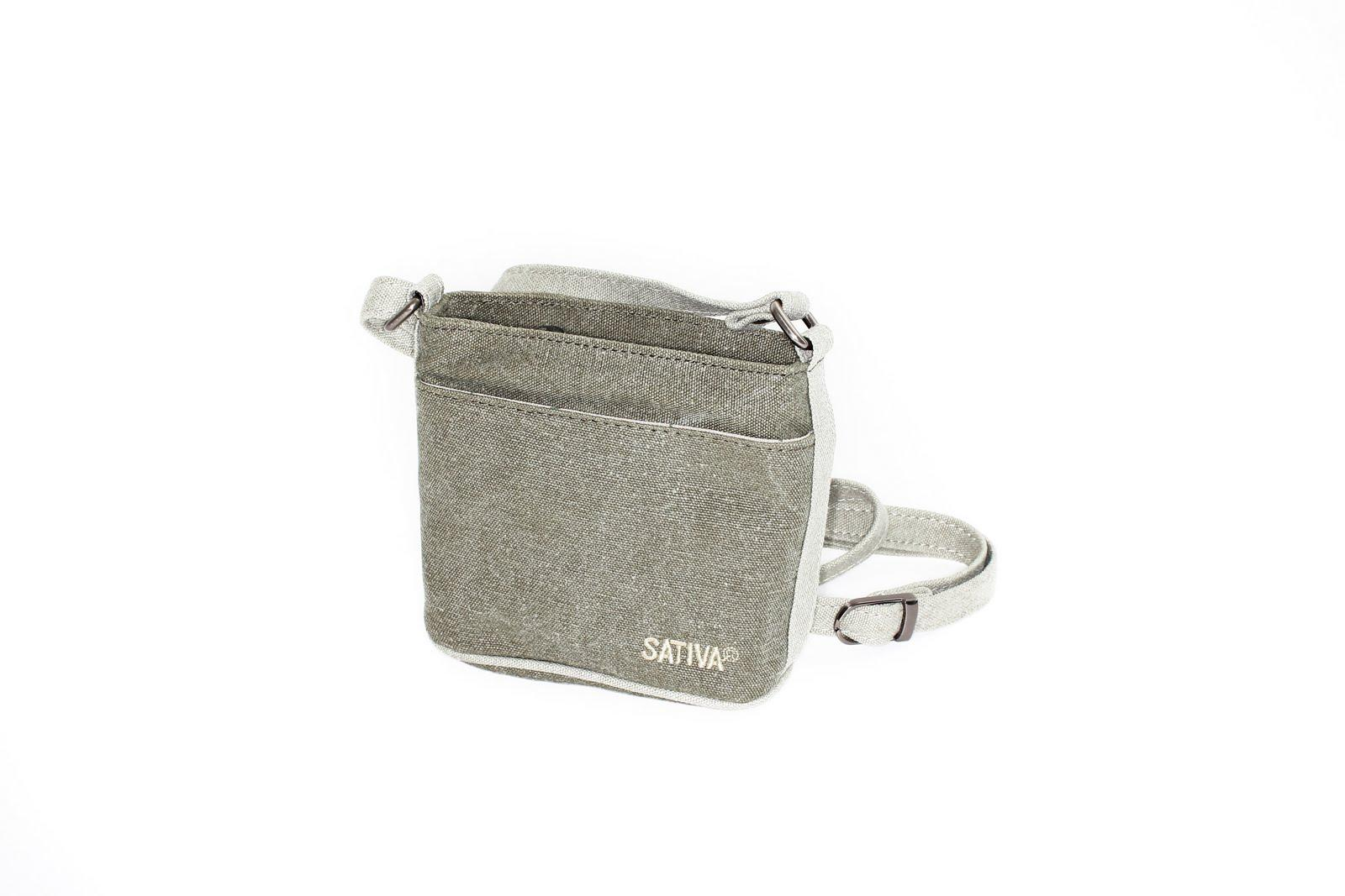 Hemp Small Two Tone Bag