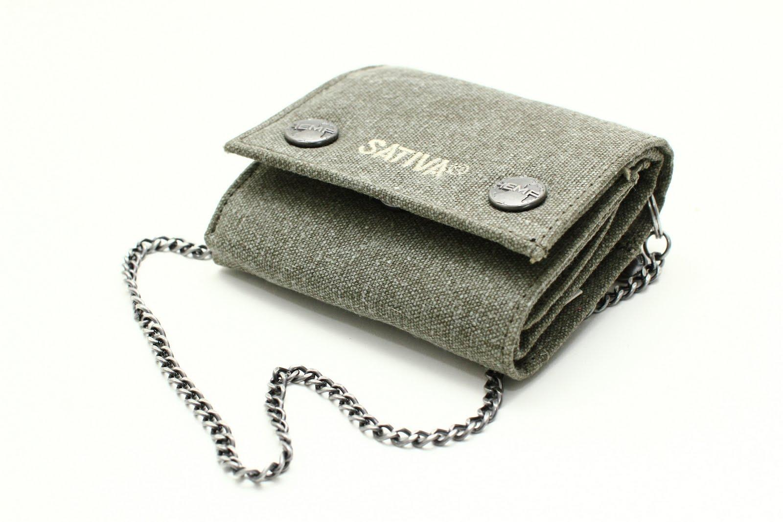 Hemp Wallet with Chian