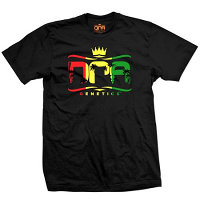 DNA Genetics Rasta Logo T-Shirt