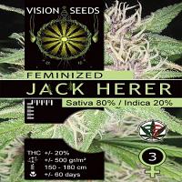 Vision Seeds Jack Herer Feminized