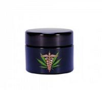 420 UV Stash Jar Medical Leaf