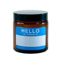 420 Write & Erase Amber Screw Top Jar
