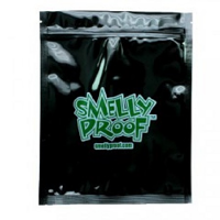 Black Smelly Proof Bags