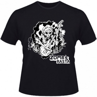 Hero Seeds Zombie Rasta Men's Black T-Shirt