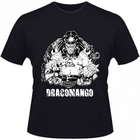 Hero Seeds Draconmango Men's Black T-Shirt