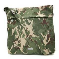 Indica Hemp Large Messenger Bag