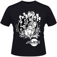 Hero Seeds Alien Jack Motta Men's Black T-Shirt