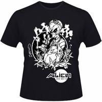 Hero Seeds Alien Jack Motta Men's Black T-Shirt