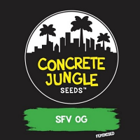 Concrete Jungle Seeds SFV O.G. Feminized