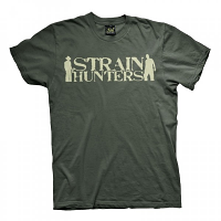 Green House Seed Co Strain Hunters T-Shirt Green
