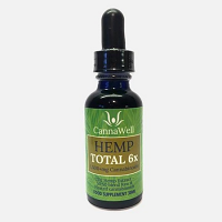 Cannawell Hemp TOTAL 6X, CO2 Hemp Extracts - 50:50 Blend of Raw and Heated Cannabinoids
