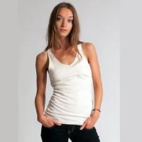 Hemp Hoodlamb Clothing Ladies V Tank Top Hemp T-Shirt