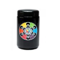 420 UV Stash Jar Metatron's Cube