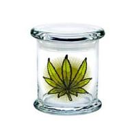 420 Classic Jar Green Leaves