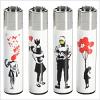 Graffiti Clipper Lighter Banksy Design Limited Edition