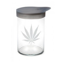 420 Soft Top Jar Silver Leaf